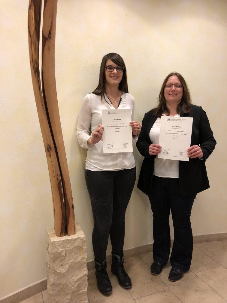 Frau Caroline Mayer Und Frau Melanie Richter - Fachassistentinnen Für Lohn Und Gehalt